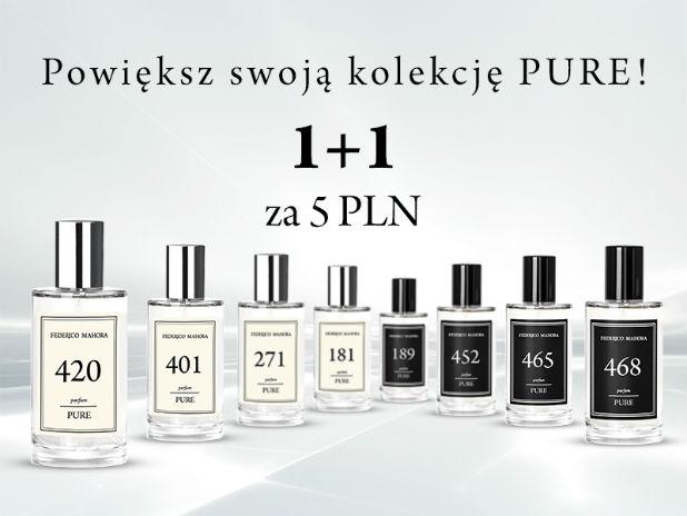 Powiększ swoją kolekcję PURE! Promocja 1+1 za 5 PLN