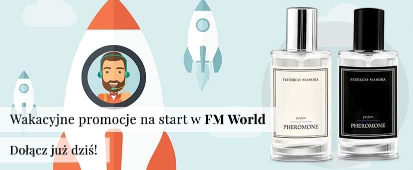 W FM World promocja powitalna dla nowych osób – wypełnij formularz