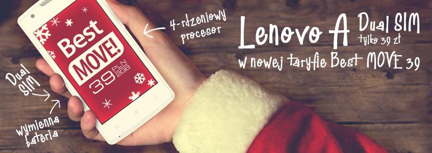 Lenovo A Dual SIM z Best MOVE 39