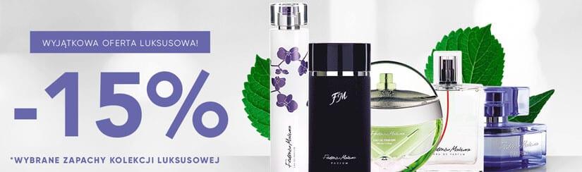 Promocyjne ceny wybranych perfum luksusowych FM World!