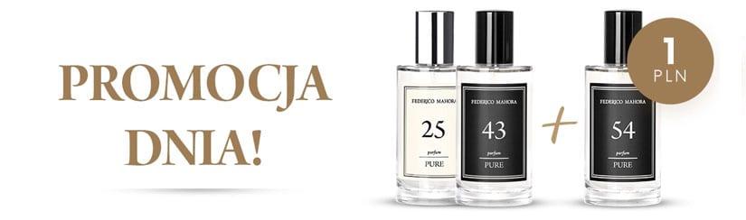 Kup dwa perfumy a trzeci otrzymasz za 1 zł