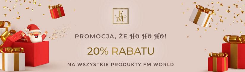 20% rabatu na cały asortyment w FM World