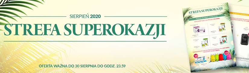Strefa SuperOkazji – sierpień 2020
